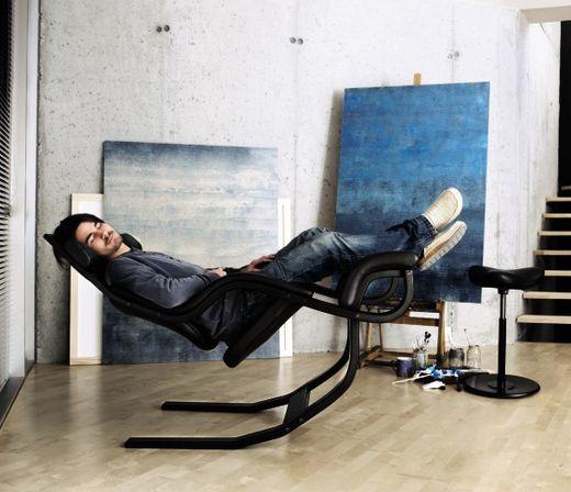 Stokke s Gravity balance chair 11 best High Tech Office Decor images on Pinterest   Office decor  . High Tech Desk Chairs. Home Design Ideas