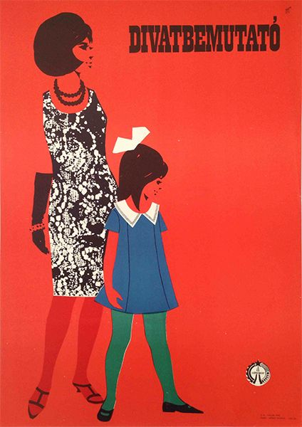 Fashion Show (1960s) - 180 USD at Budapest Poster Gallery's Shop