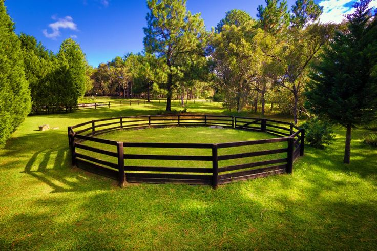 how to build a horse arena