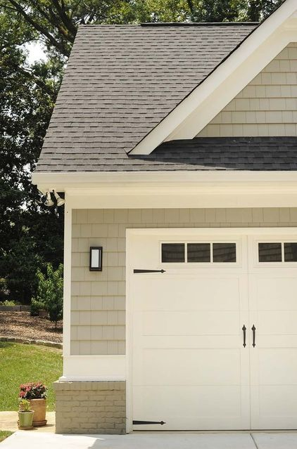 Best 25 shingle colors ideas on pinterest home exterior for Building a detached garage on a slope