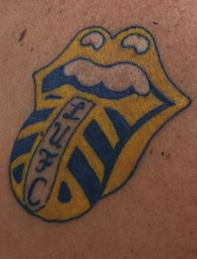 Stones / Leeds United tattoo