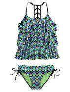 Aztec Tankini Swimsuit