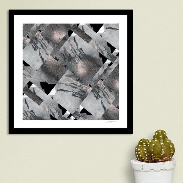 Discover «Medusa Grey», Numbered Edition Fine Art Print by gasponce - From 18€ - Curioos
