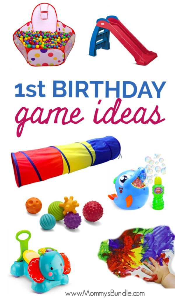 The Best Party Games For Baby S First Birthday 1st Birthday Party Games First Birthday Activities Birthday Games For Kids