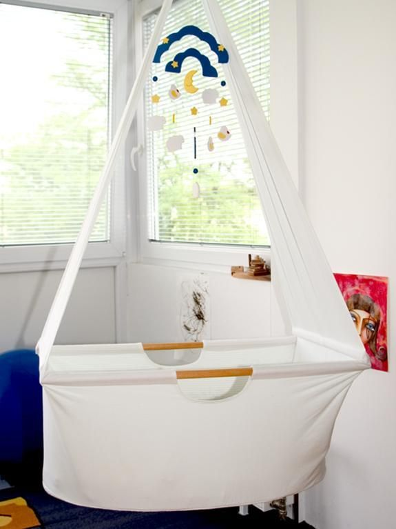 Sewing: Baby hanging cradle with VIDEO