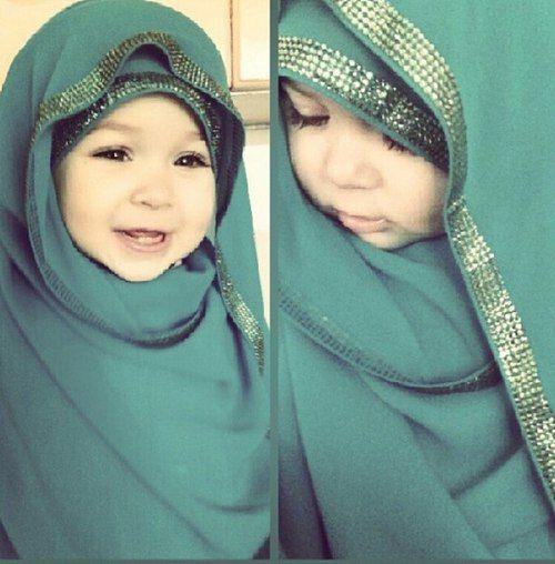 Muslim, Hijab, And Baby Image