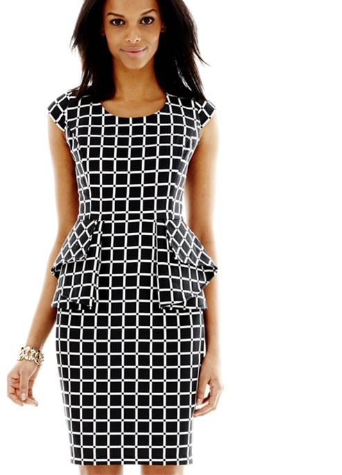 13 best summer en trendstudiofm images on pinterest empire the peplum and the capped sleeves of this dress add shape and character to the print fandeluxe Gallery