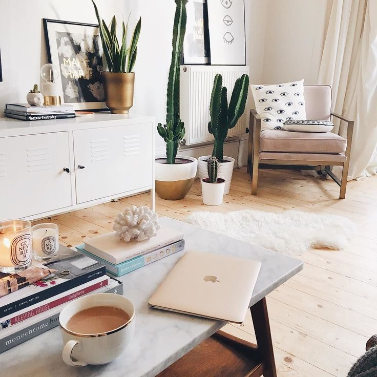 lovely ikea living room | Drinking tea and catching up on comments from my ...
