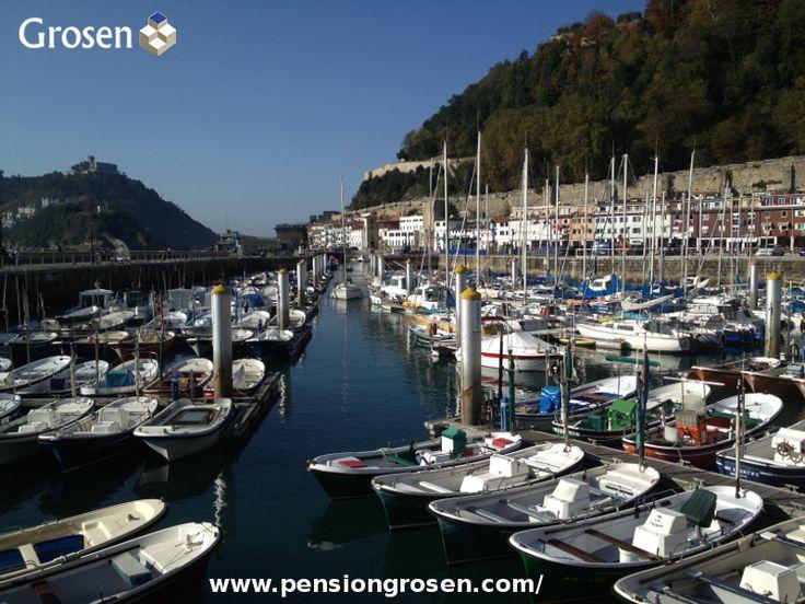 Puerto de San Sebastián - Donostia. http://www.pensiongrosen.com/
