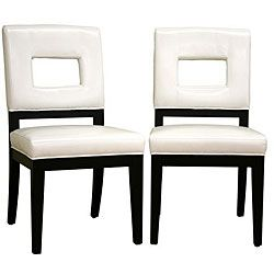 Best 25+ White Leather Dining Chairs Ideas On Pinterest | Contemporary  Potting Benches, Leather Dining Chairs And Long Dining Tables