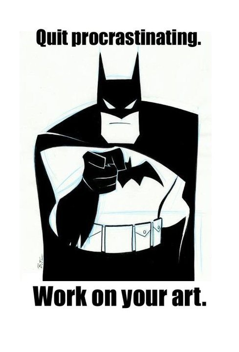 Batman says it like it is.