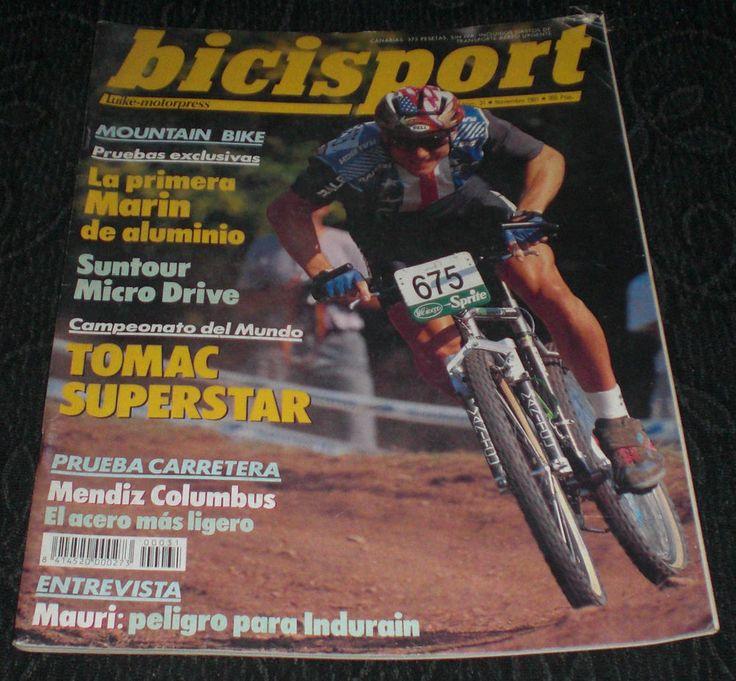 Revista Ciclismo Bicisport N 31 Noviembre 1991, la primera Marin de aluminio