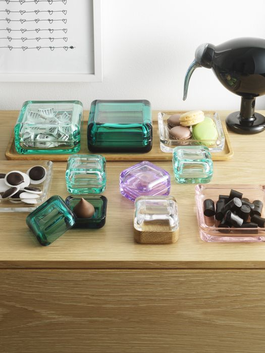 Vitriini Boxes by Anu Penttinen for Iittala