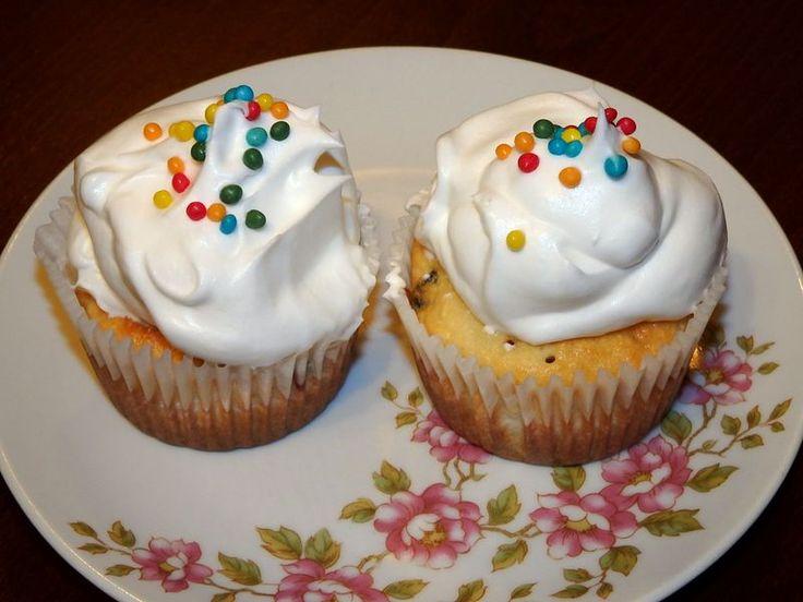 Muffiny s brusnicami a kokosom