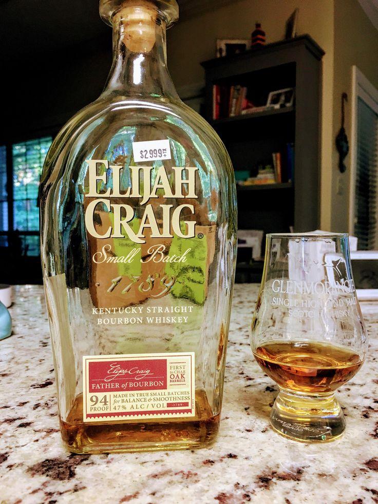 Review #5// Elijah Craig Small Batch #bourbon #whiskey #whisky #scotch #Kentucky #JimBeam #malt #pappy