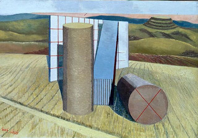 Paul Nash Equivalents for the Megaliths  1935