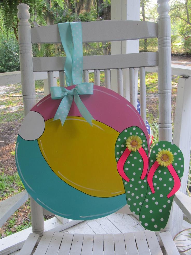 Summer Door Hanger