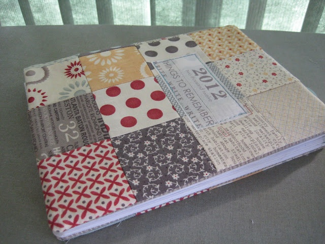 notebook cover tutorial based on #Sweetwaterdesign pattern at #finding fifth