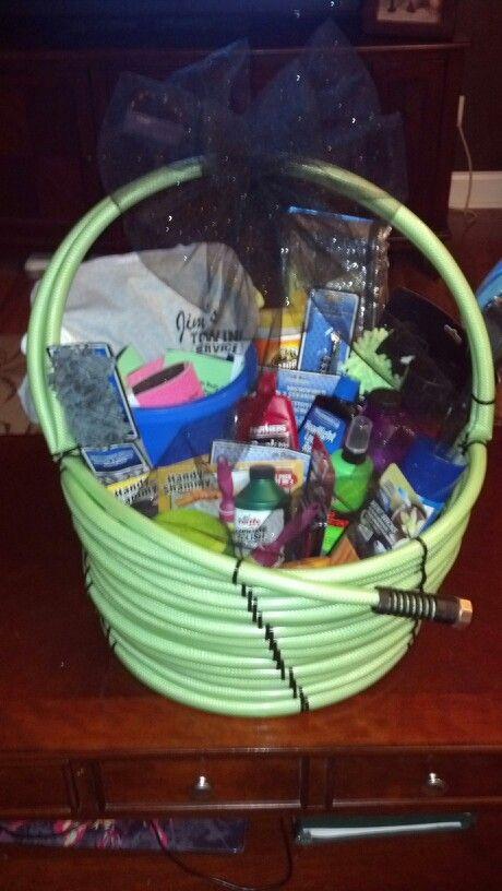 Car wash gift basket!   Cute fundraising ideas   Pinterest ...
