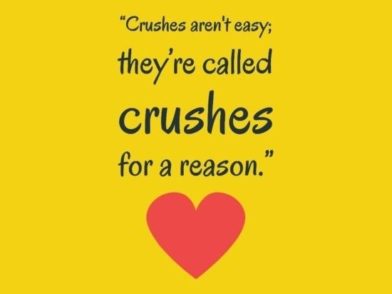 "Cute love quote for her first – quotes about love ""Crushes aren't easy, they're called Crushes for a reason."" – famous quotes about love"