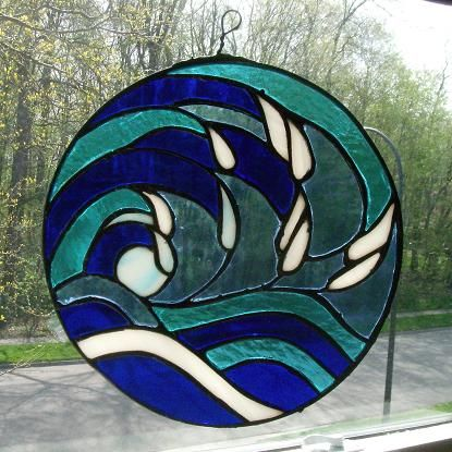 X Glass Mosaic Suncatchers