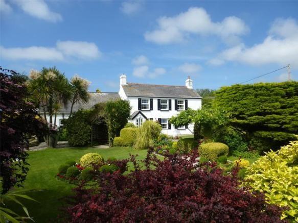 Delightful garden in Crantock, Conrwall