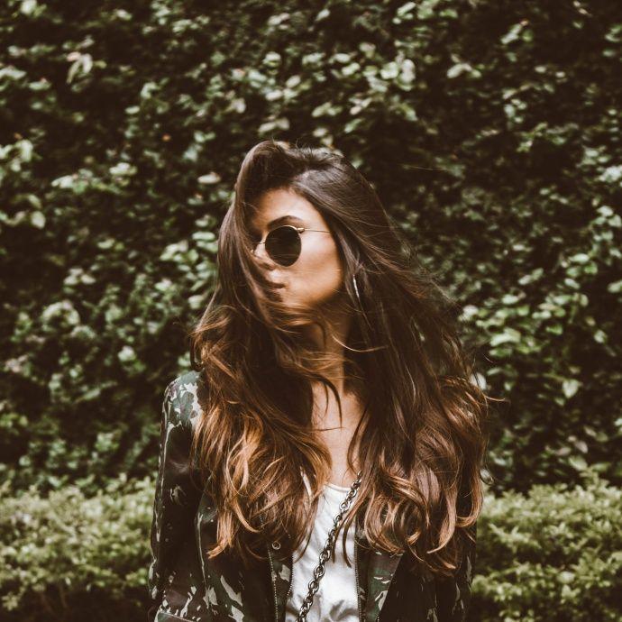 Hair goals. INSTAGRAM: @VIIHROCHA