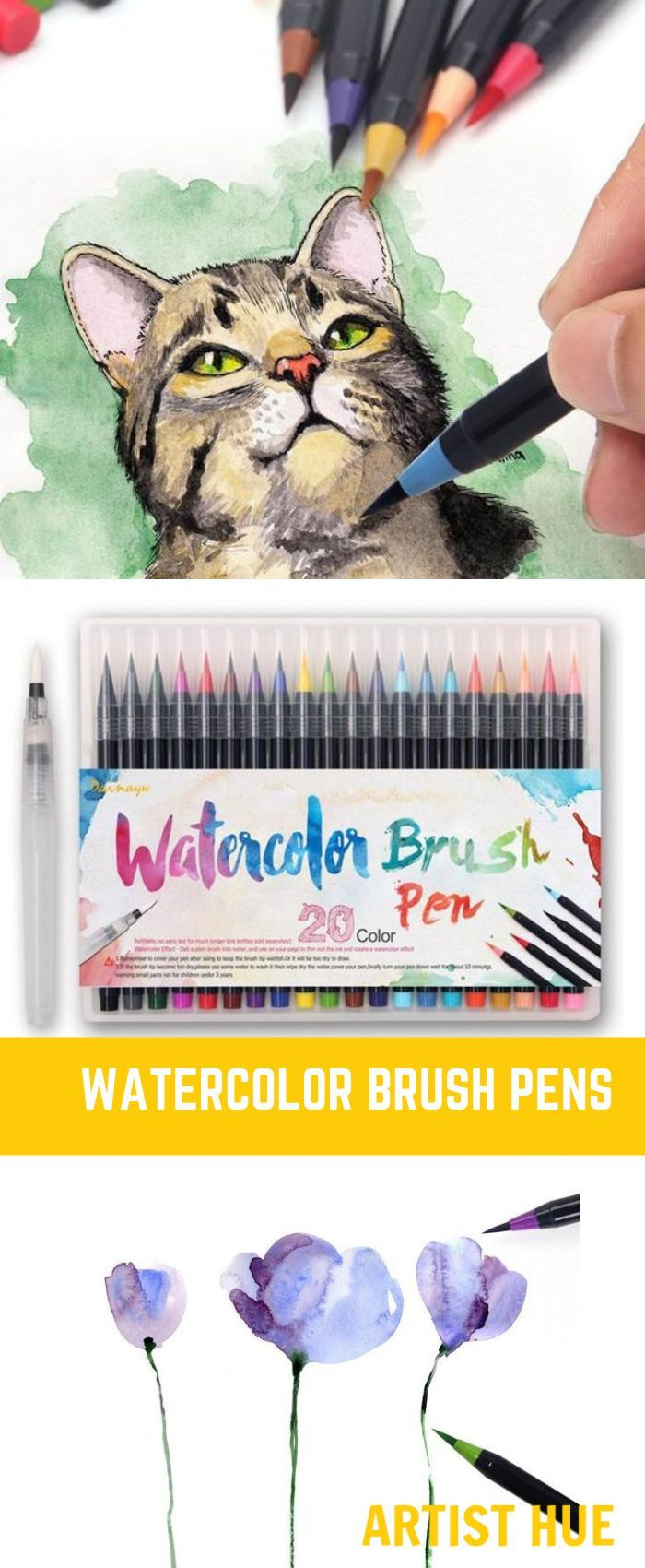 Watercolor Brush Pen Watercolor Brush Pen Art Ideas Tutorials