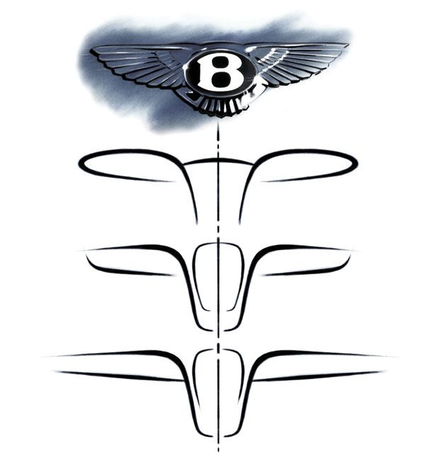 The Design Evolution Of A Bentley Car