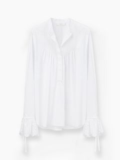 Discover Pin Tuck Blouse and shop online on CHLOE Official Website. 17SHT1017S041