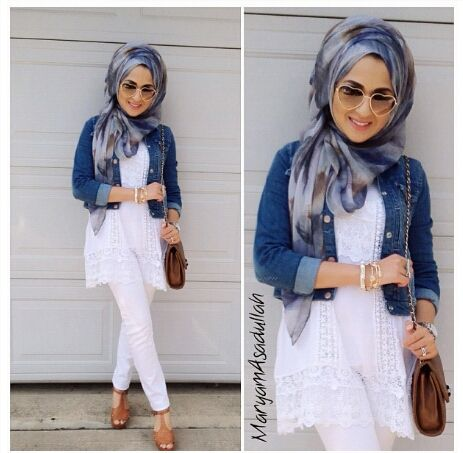 Love the way she wrapped her hijab