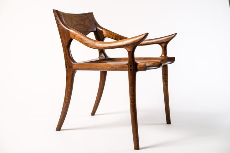 Sam Maloof Low-back chair