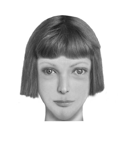 """Daisy Buchanan from the Great Gatsby - a portrait created by feeding descriptions of a literary character into law enforcement composite sketch software.  """"All interesting suggestions considered. Include descriptive passages if you can. Read more on the project at The Atlantic."""""""
