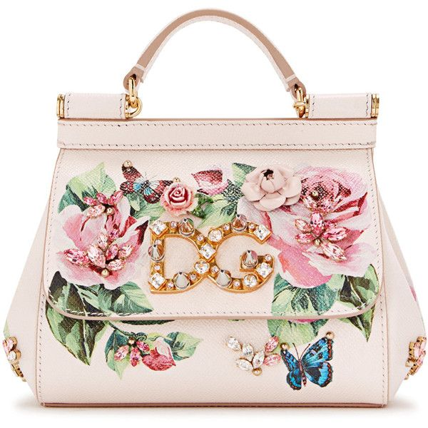 Dolce Gabbana Sicily Floral Print Leather Tote 3 105 Liked