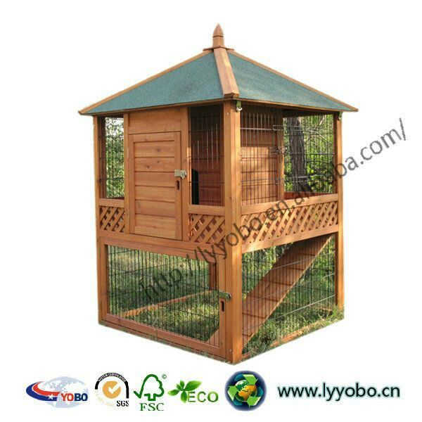 Awesome chicken coop design outside pinterest for Wooden rabbit hutch plans