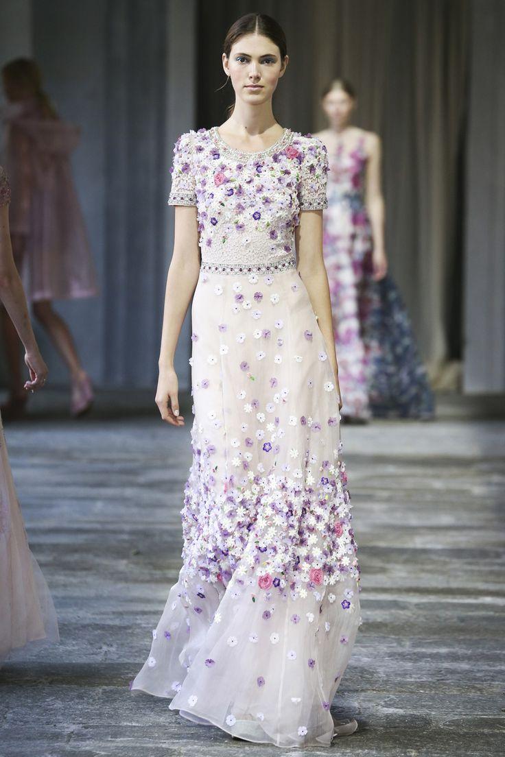 #purple Luisa Beccaria womenswear, spring/summer 2015, Milan Fashion Week