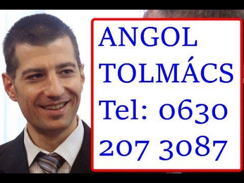 Angol Tolmács Budapest - Profi Angol Tolmács