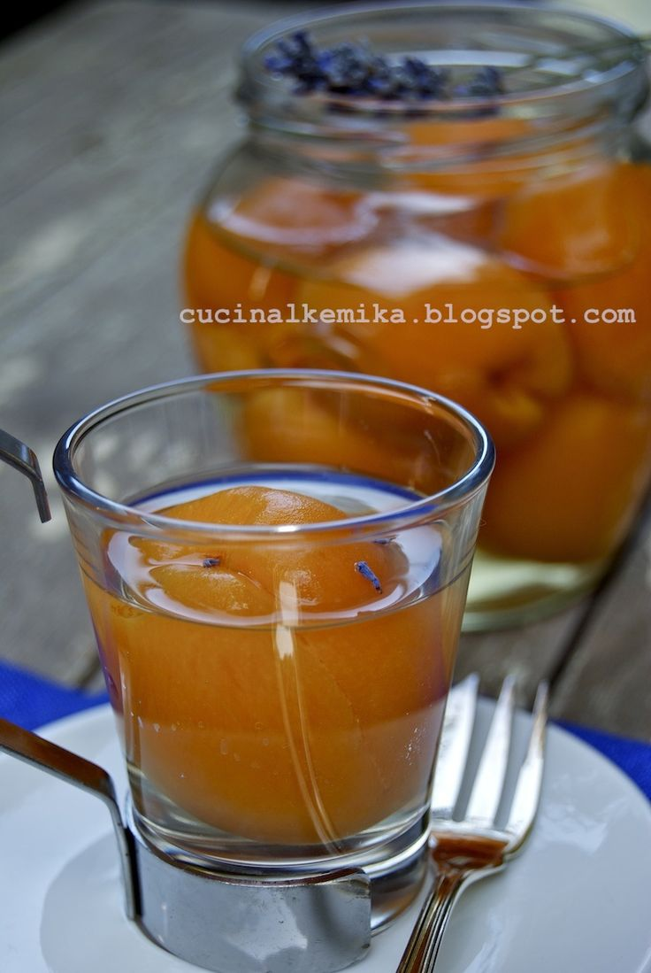 Apricot in syrup.
