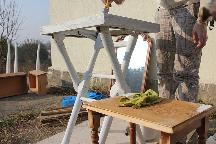 under construction #furniture #furniturerehab #vintage #vinterio #workinprogress