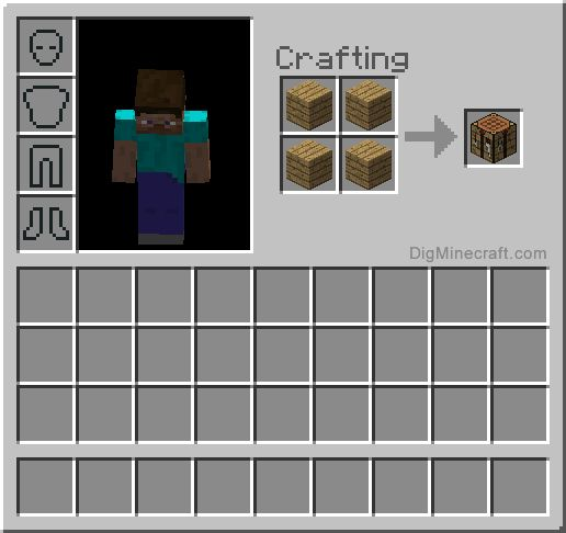 1000 images about basic recipes minecraft on pinterest - How do you use a crafting table in minecraft ...
