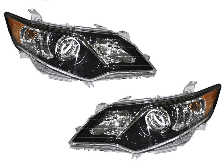 2012-2013 Toyota Camry SE Model Halogen Headlights Set: 2012-2013 Toyota Camry SE Model Halogen Headlights… #CarHeadlights #AutoHeadlights