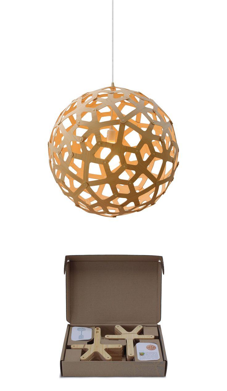 A LiTTLE LiGHTiNG LoVE... David Trubridge iconic Coral pendant light. coral_and_box