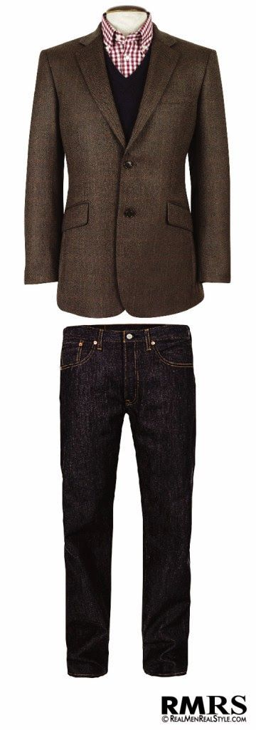 Saco sport con jeans | Moda Caballeros | Pinterest | Sports Posts and Jeans
