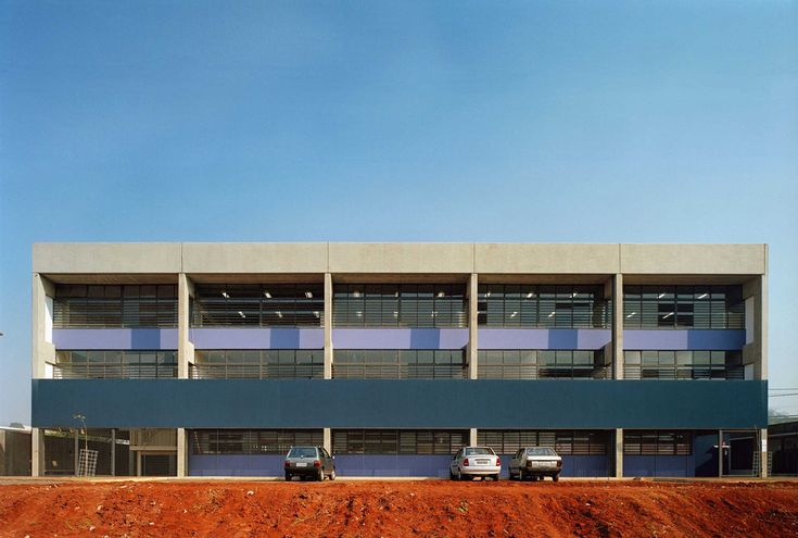 Gallery of CHB Campinas F1 State School / MMBB Arquitetos - 1