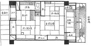 Traditional japanese house Floor Plan JAPS Pinterest
