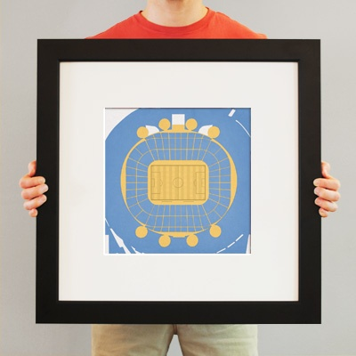 City of Manchester Stadium | City Prints Map Art