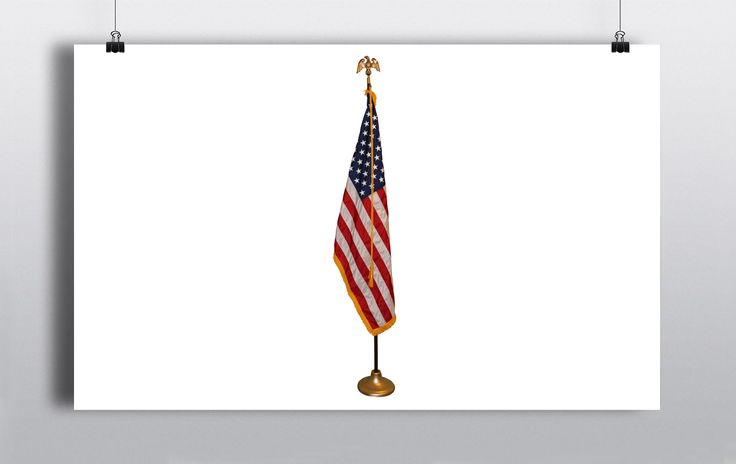 Brass flagpole stand. http://www.prophouse.ie/portfolio/flag-stand/