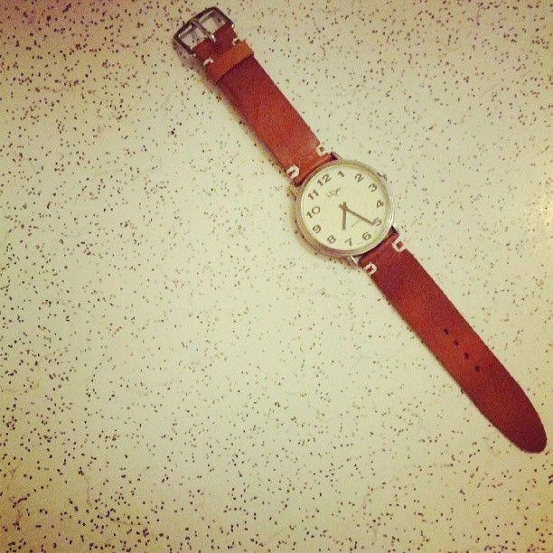 Custom men's watch strap by Georgie Cummings