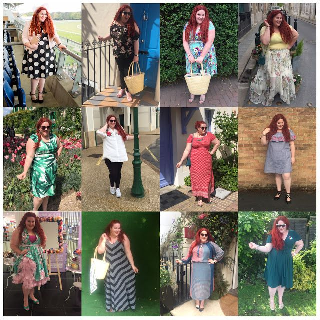 My Month In Outfits: What I Wore in May   Sheesh! May was a busy month. I spend 5 days in France with my family which was wonderful. I had a host of parties to go to. There were loads of press days in London previewing Autumn Winter trends (I know it's weird summer has barely started). So lots of opportunities to dress up. Check out what I wore in May...  Red Shirred Scarf Maxi Dress - River Island Plus  I had a little holiday in May - 5 days in France with my family. We arrived to glorious…