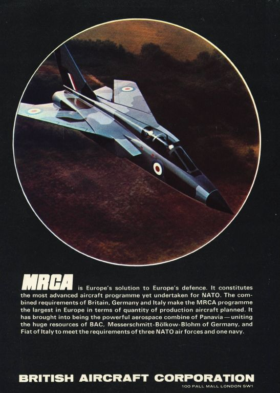 Aviation Magazine Adverts in the Seventies - Think Defence